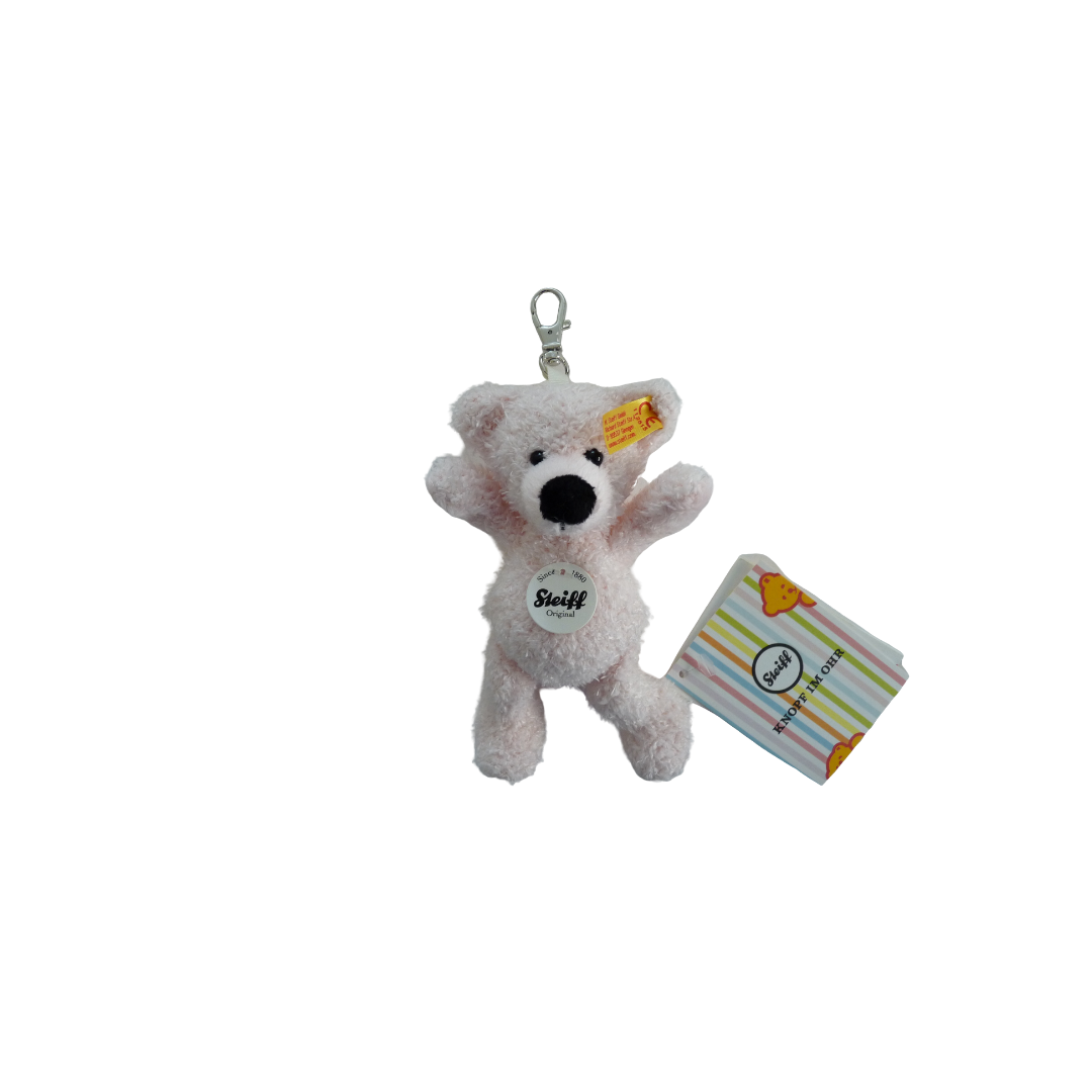 Steiff Teddy Bear - Key Charm Lotte Pink