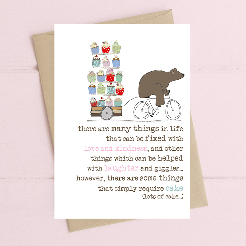 Card Thinking Of You Dandelion - Simply Require Cake 409