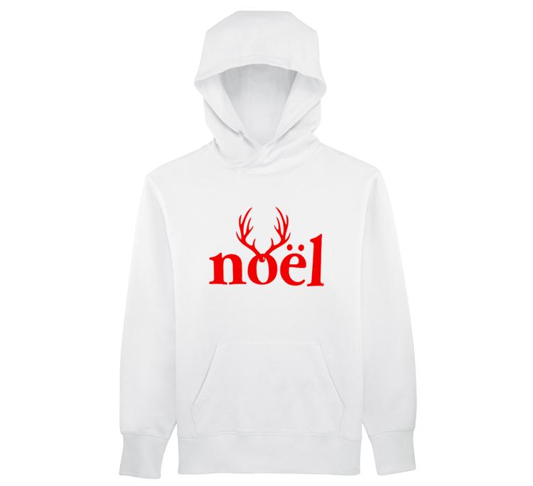 Seasoul Hoodie - Noel White/Red
