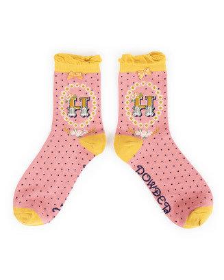 Powder Alphabet Socks A-Z