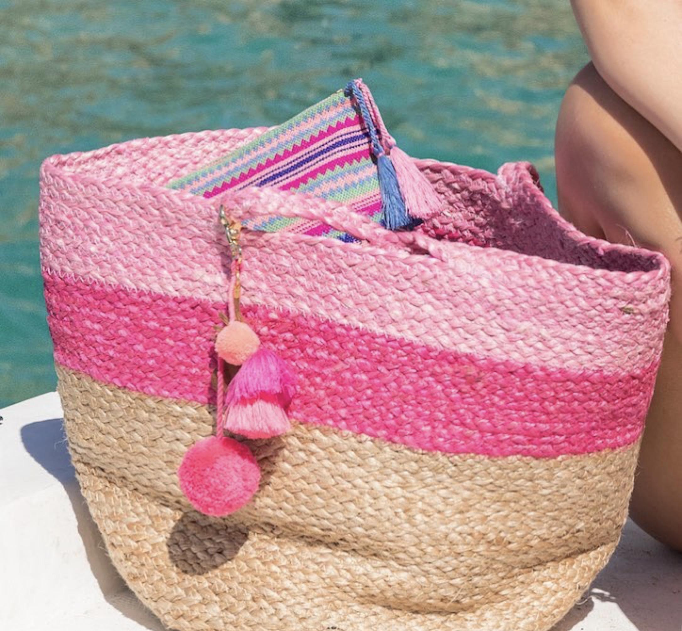 Beach Bag - Ashiana Alba Pink