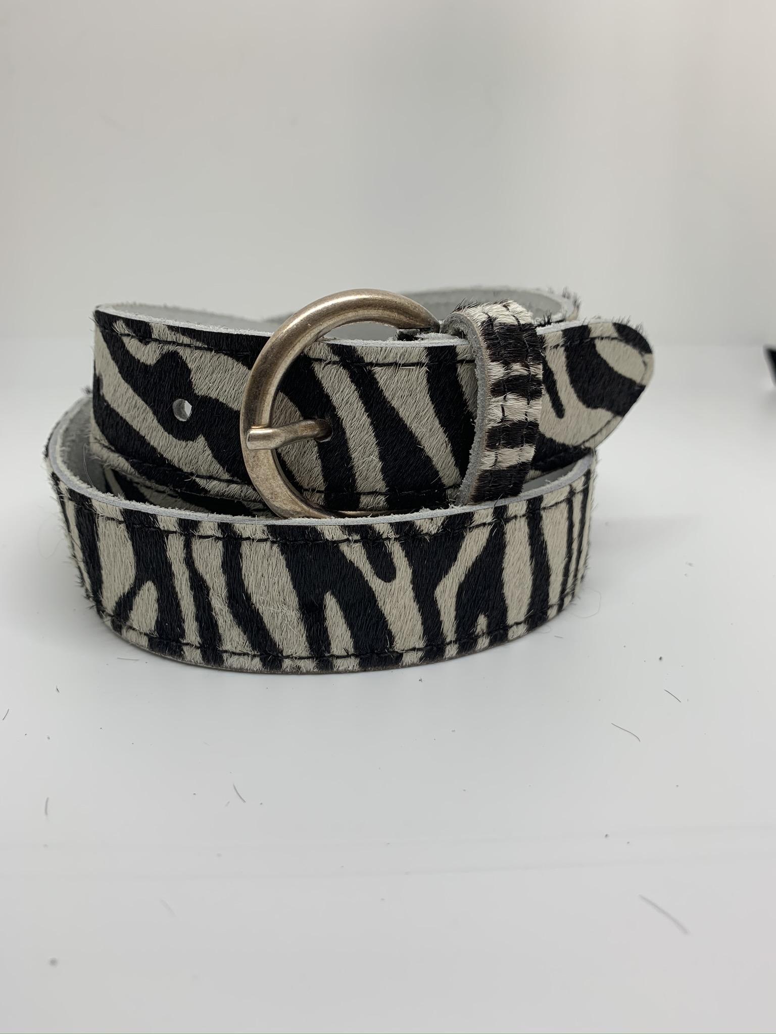 Leather Belt - Animal ( 4 colours )