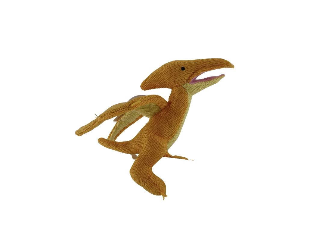 Dinosaur Rattle - Pterodactyl Yellow