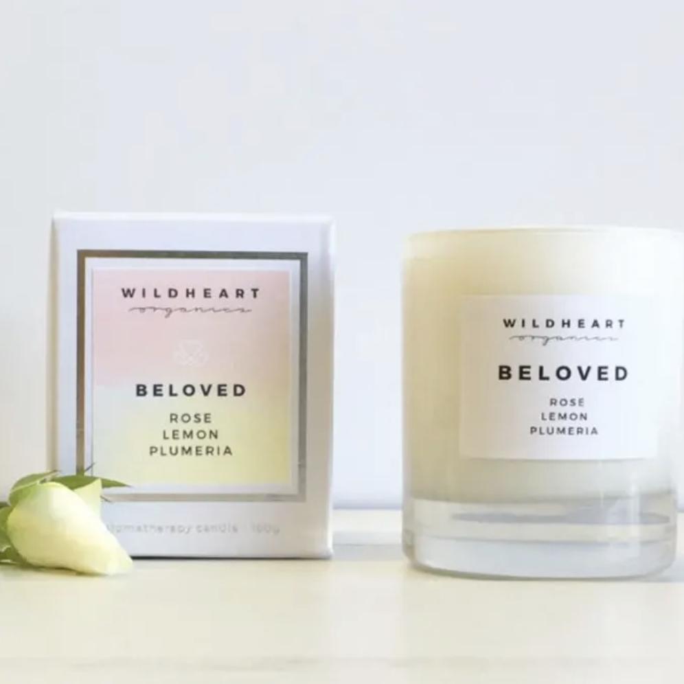 Wildheart Organics Spa Candle - Beloved