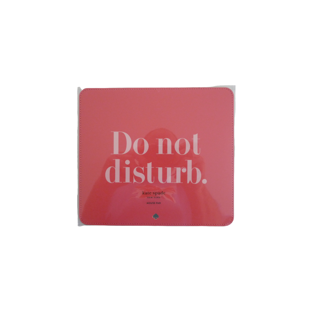 Kate Spade Mouse Mat - 'Do Not Disturb'