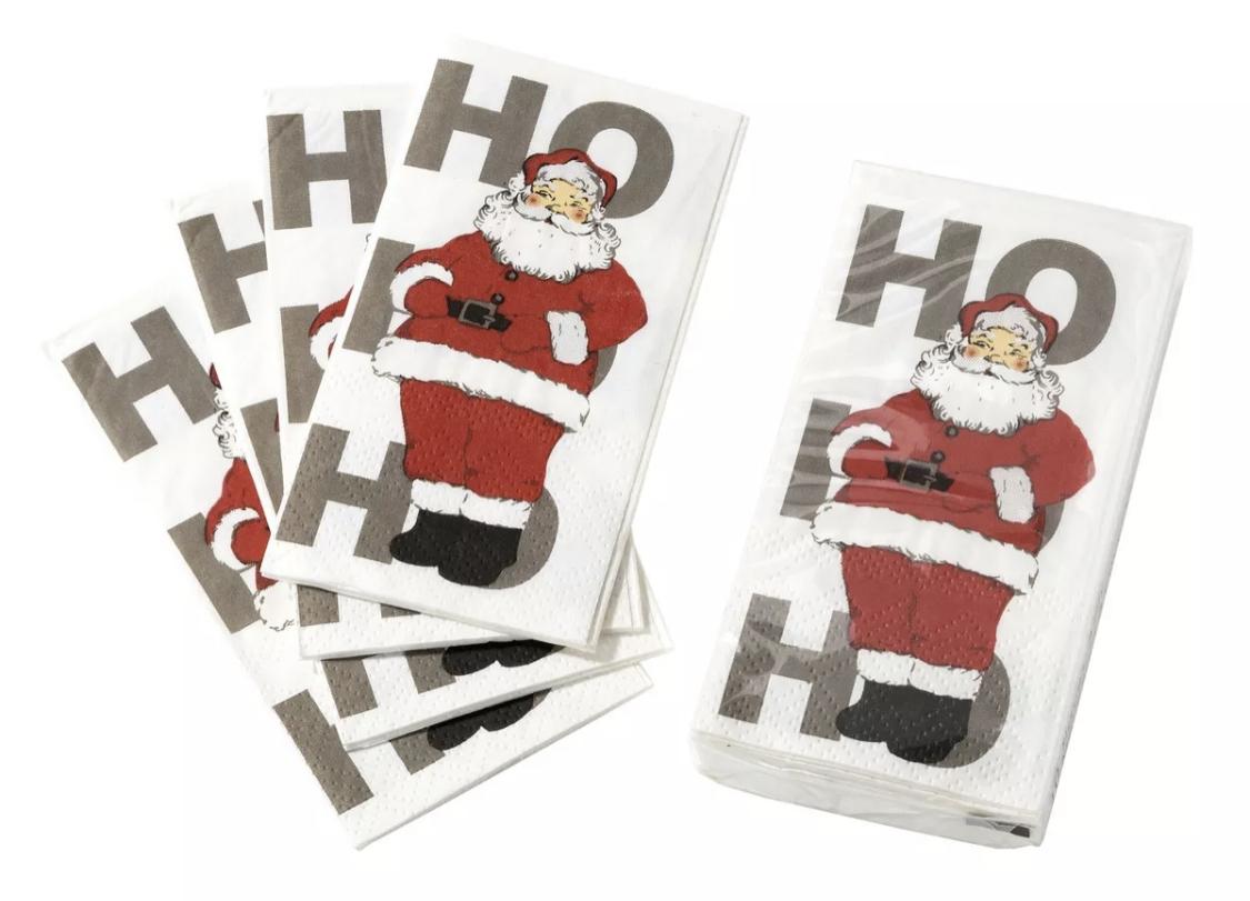 Christmas Santa Tissues