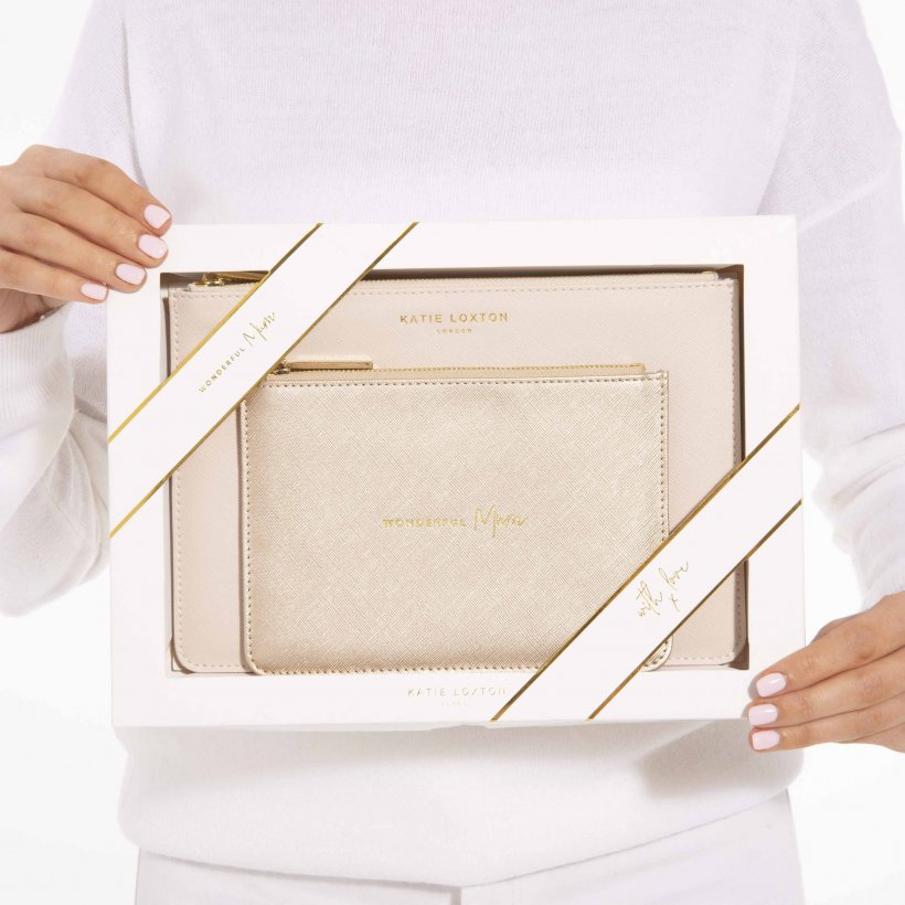Katie Loxton Perfect Pouch Gift Set - Wonderful Mum KLB586
