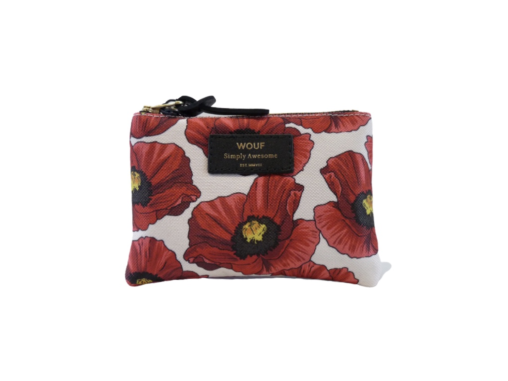 Wouf Pouch - Poppy Small