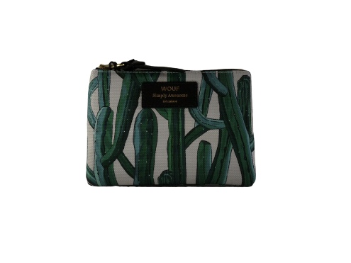 Wouf Pouch - Wild Cactus Small