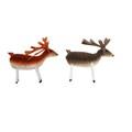 Gisela Graham Christmas Decoration Woodland - Reindeer Bristle