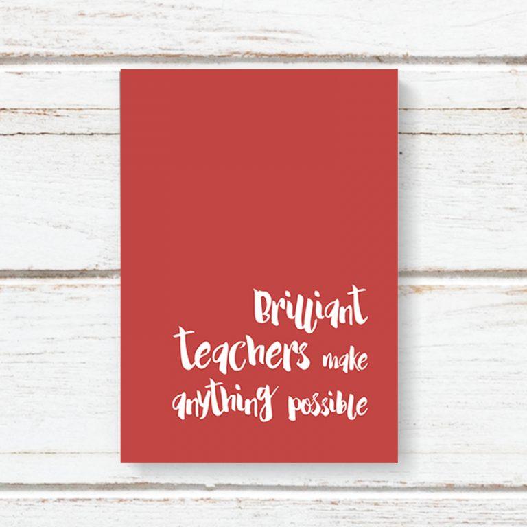 Notebook Jotter Dandelion - Brilliant Teachers 6216