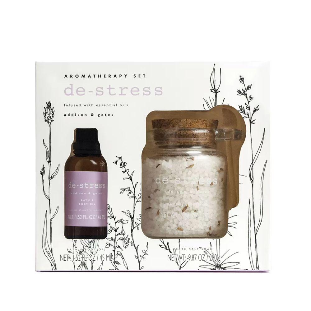 Somerset Toiletries Aromatherapy Bath Soak - De-Stress Lavender, Chamomile & Lemongrass