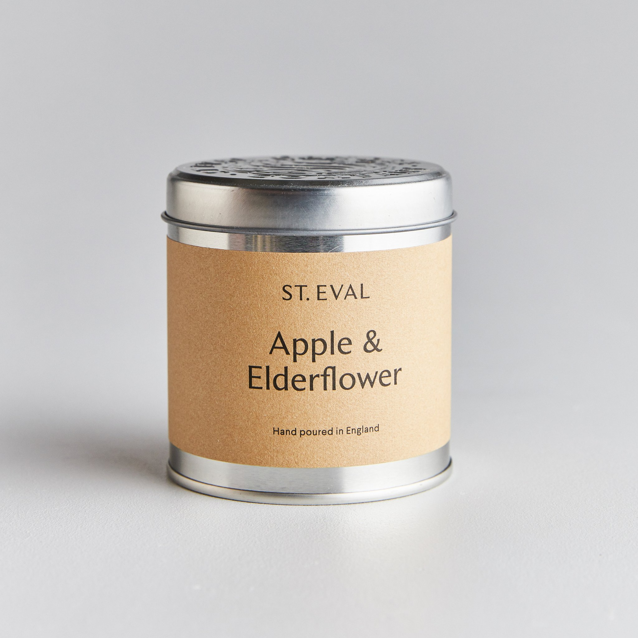 St Eval Candle Tin - Apple & Elderflower