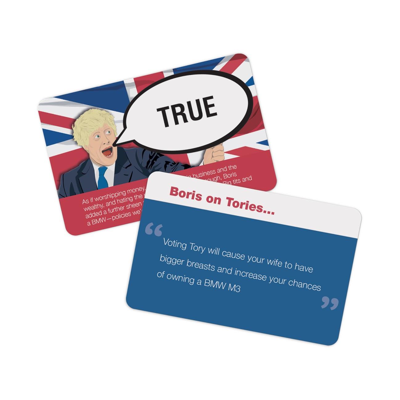 Fake News Game - Boris Edition - WAS £9.95