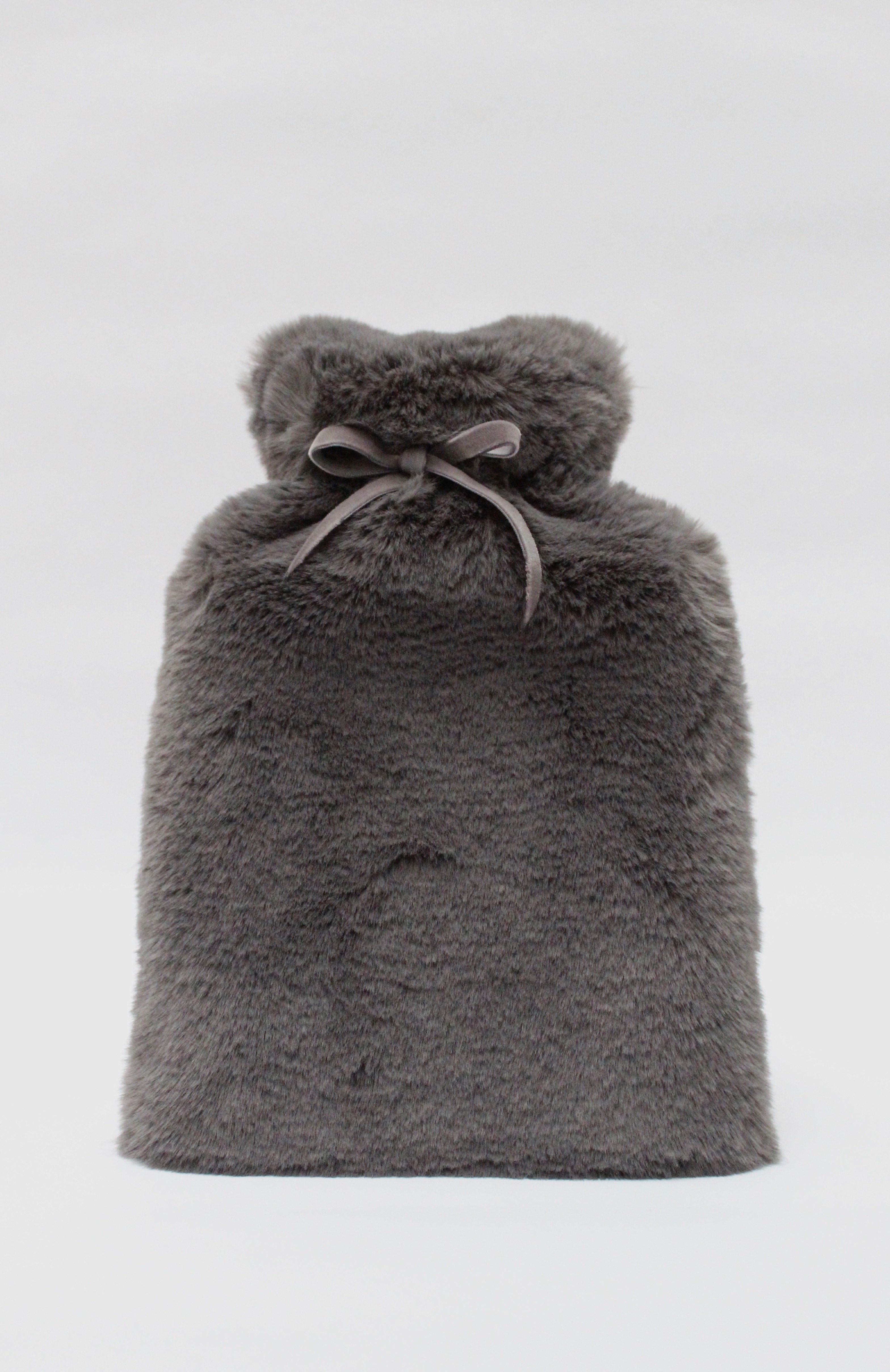Chalk Fluffy Hot Water Bottle - More Colours