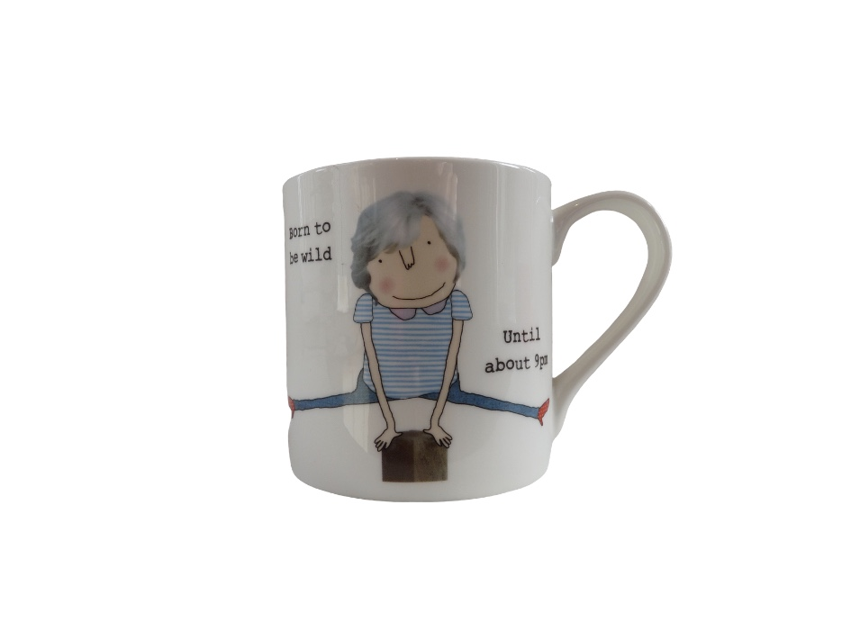 Rosie Made A Thing Mug - Born To Be Wild ...