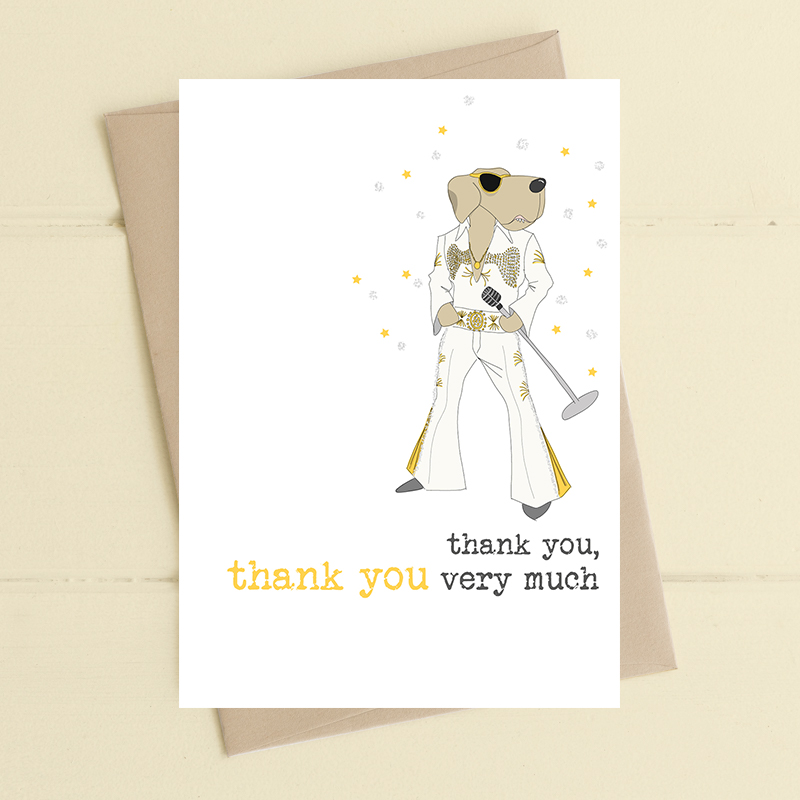 Card Thank You Dandelion - Elvis 564