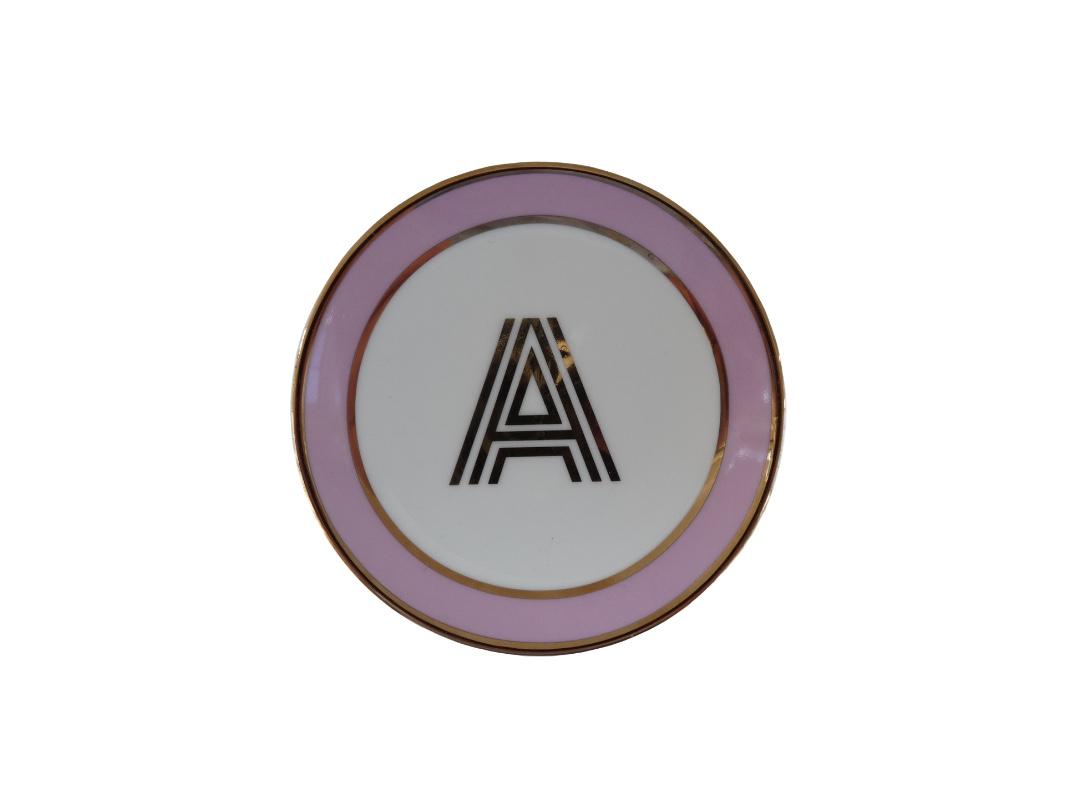 Bombay Duck Alphabet Trinket Dish - A