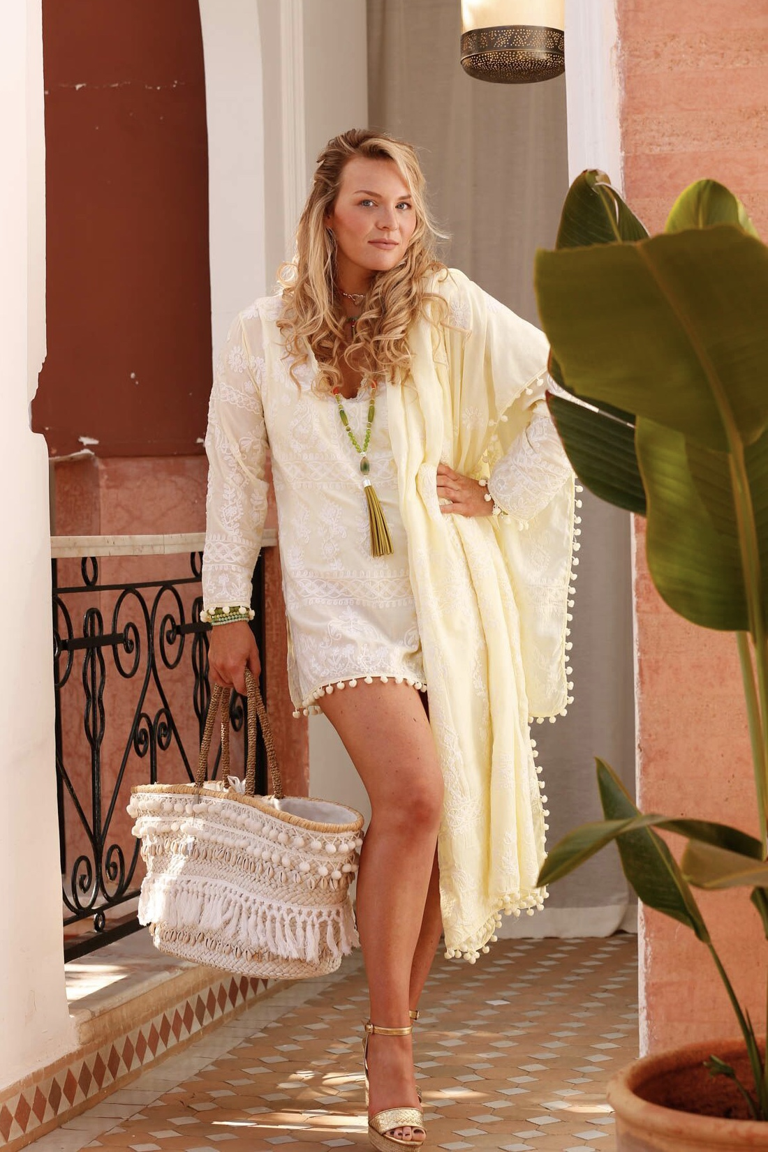 Pranella - Melina Dress Lemon