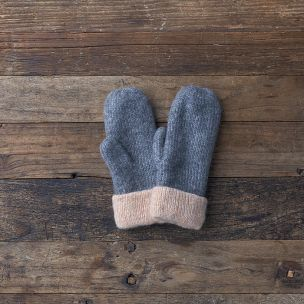 Lemon Collections Mittens - Soft Touch Reversible - Flannel