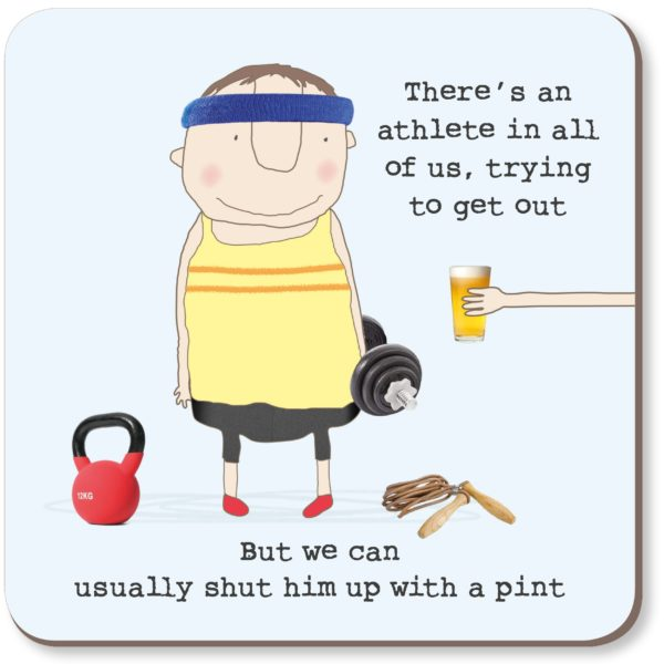 Coaster Rosie - Athlete Pint 011