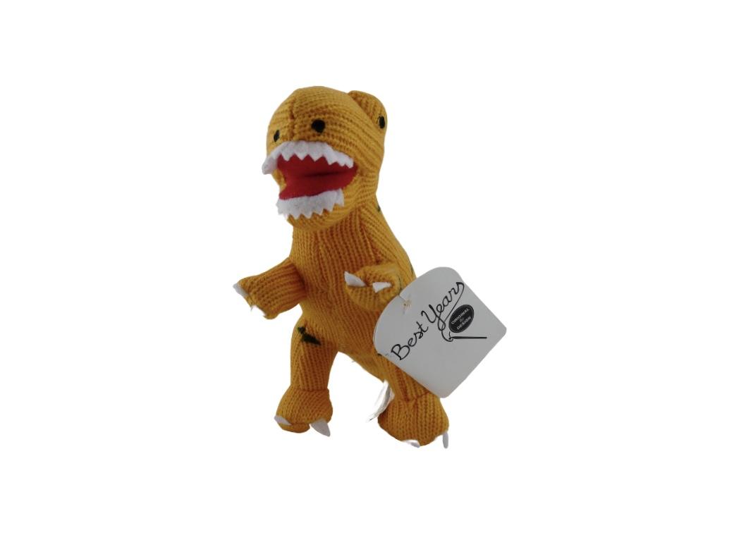 Dinosaur Rattle - T Rex Yellow