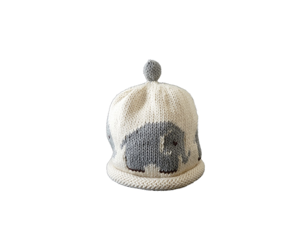 Baby Hat - Elephant grey