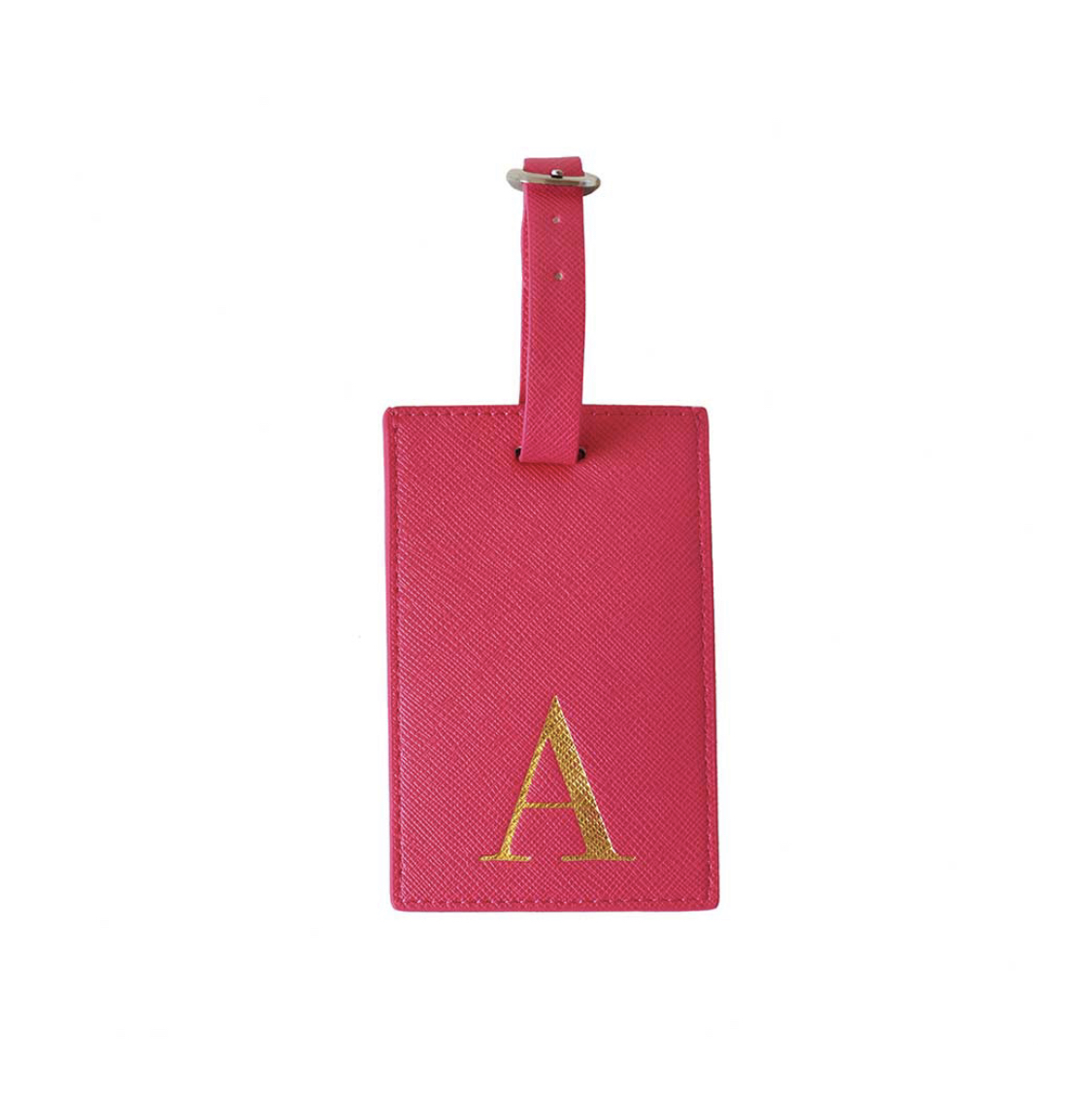 Bombay Duck Alphabet Luggage Tag - A