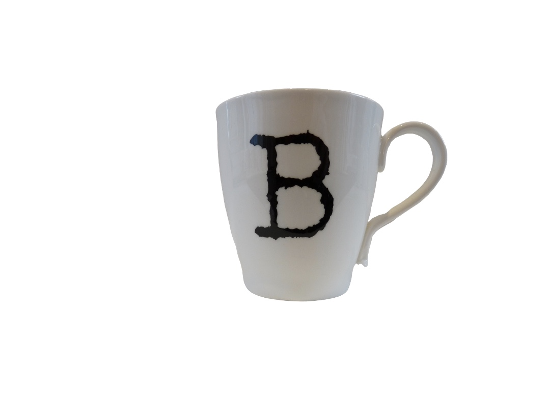 Glorious Mud Alphabet Mug - Brilliant