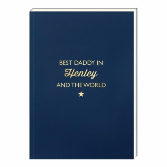 Notebook Bluebell - Best Daddy in BEACONSFIELD and the World