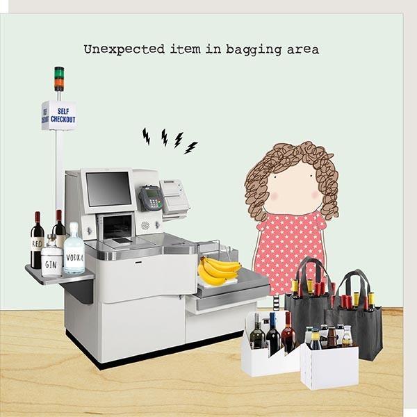Card Female Rosie - Bagging Area - 163