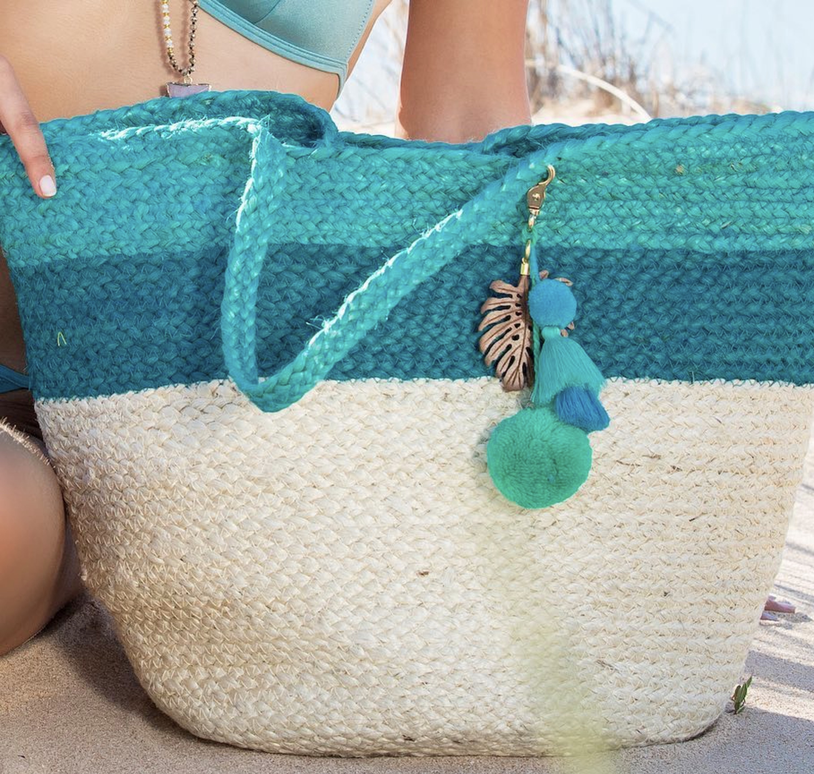 Beach bag - Ashiana Alba Green