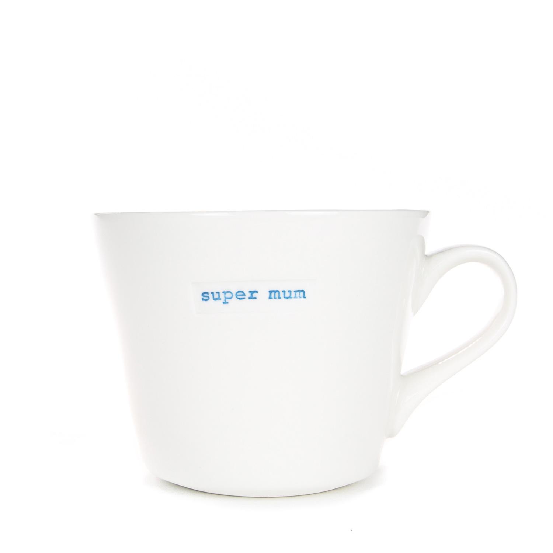 Keith Brymer Jones Bucket Mug - Super Mum