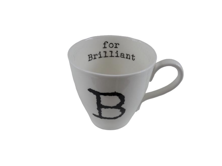 Glorious Mud Alphabet Mug - Brilliant