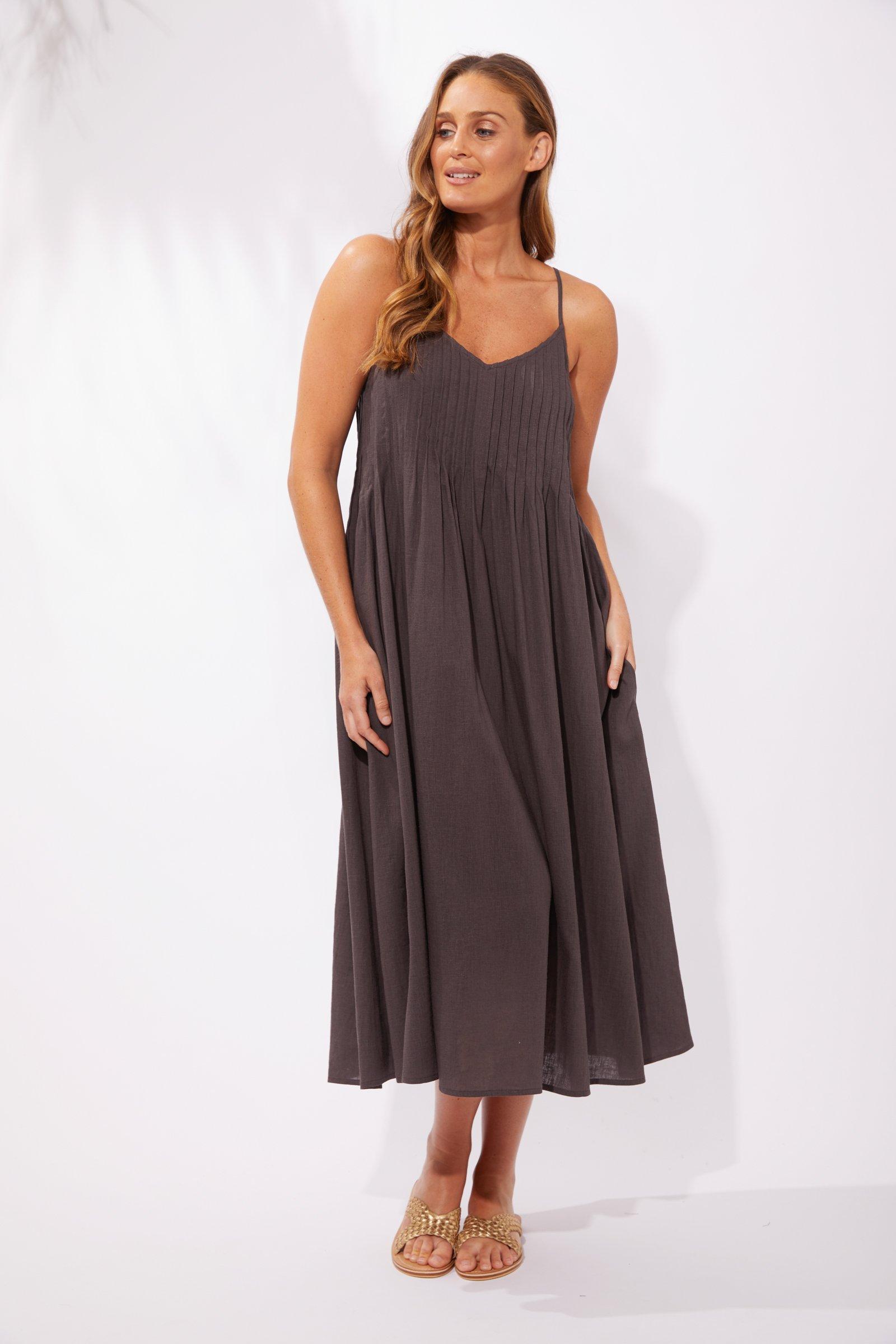 Haven Cuban Maxi Dress - Flint