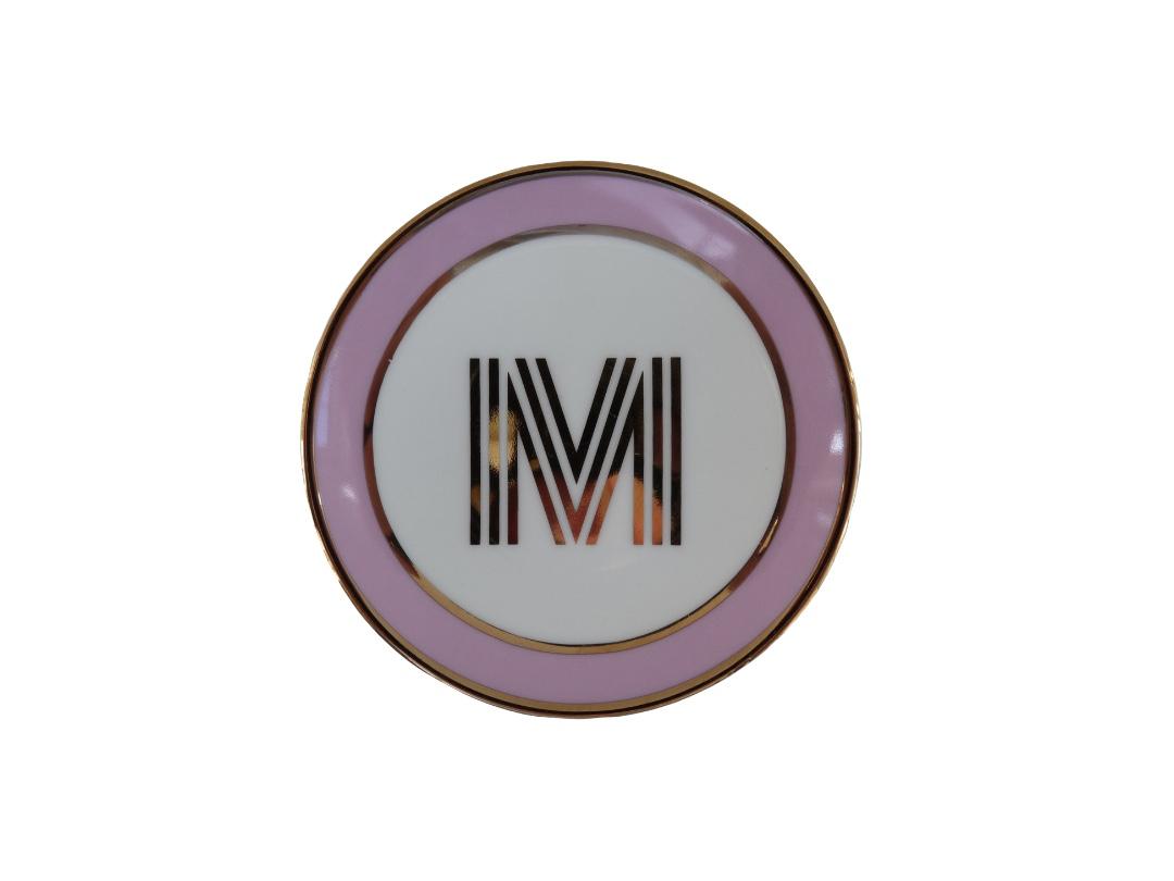 Bombay Duck Alphabet Trinket Dish - M