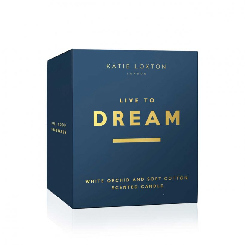 Katie Loxton Candle - NEW Live To Dream