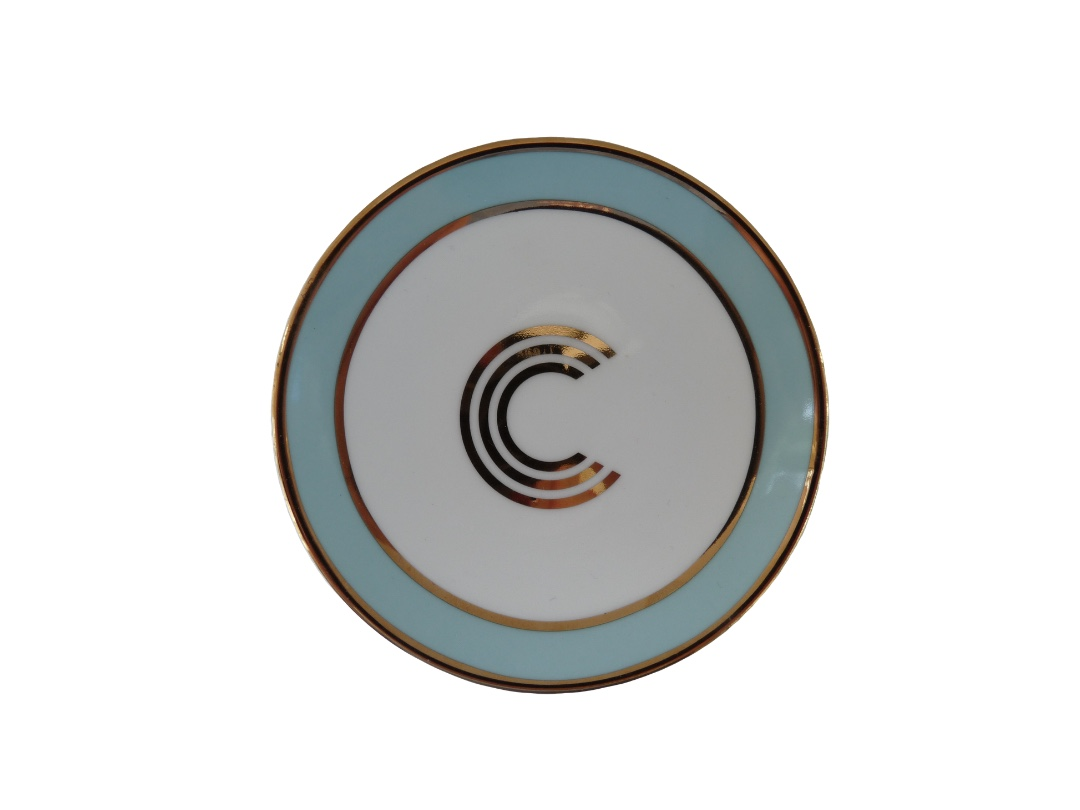 Bombay Duck Alphabet Trinket Dish - C