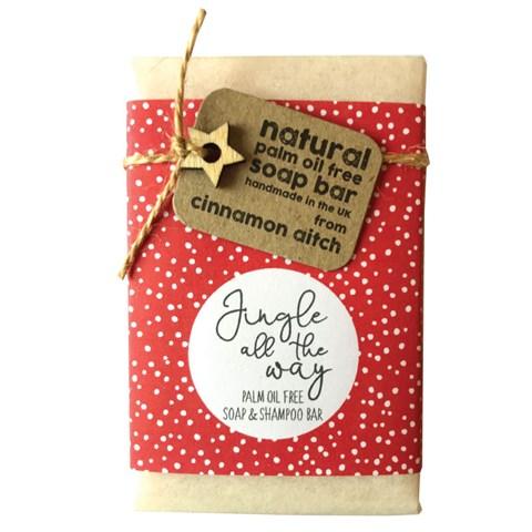 Cinnamon Aitch Soap - Jingle All The Way Shampoo & Soap Bar