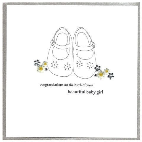 Card Baby Girl - Shoes - CAitch P83