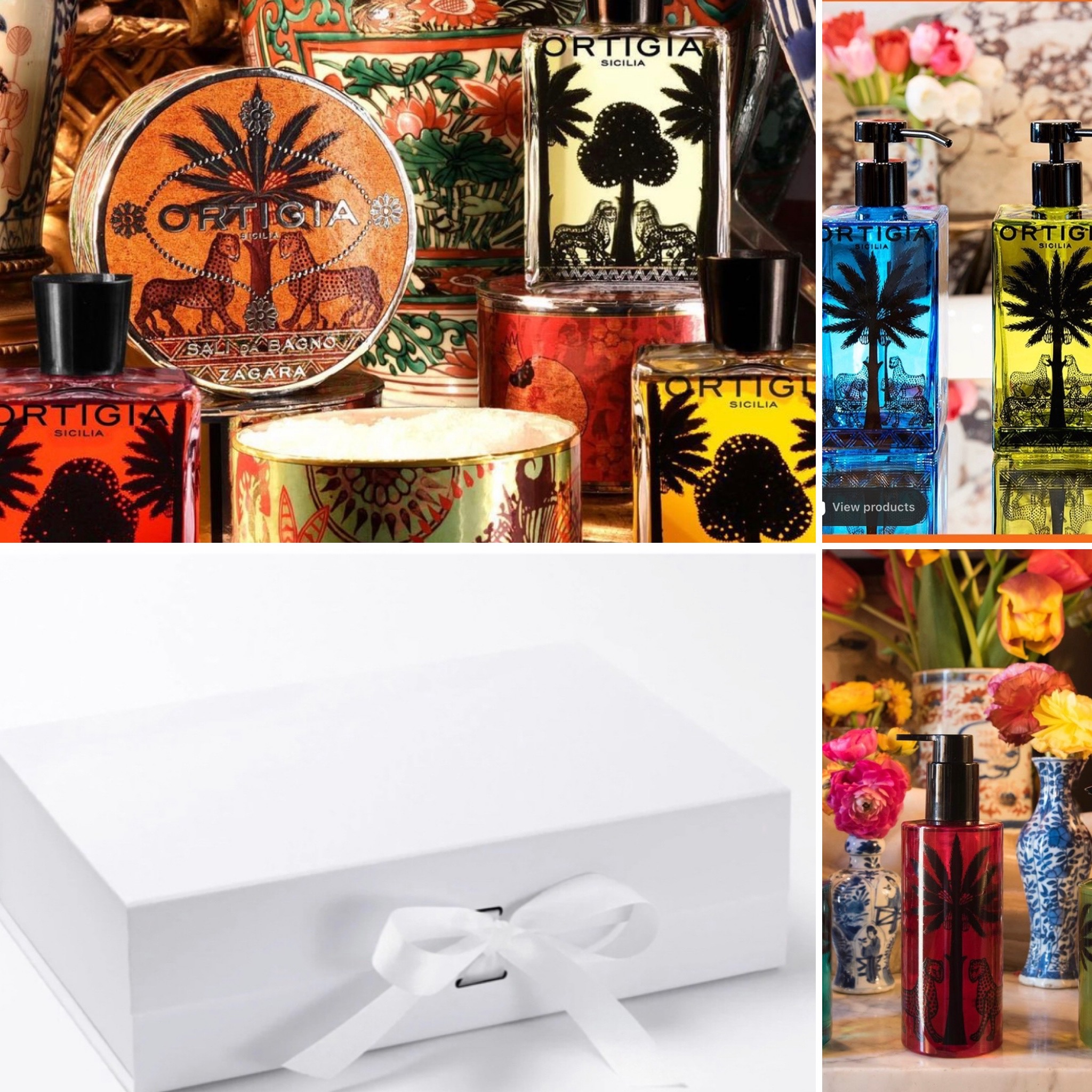 Ortigia Gift Box - Select Your Own Products - Minimum Spend £40 on Ortigia Products