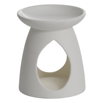Wax Melt Warmer - Ceramic Tall White Plain