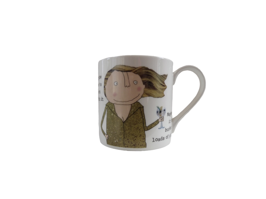 Rosie Made A Thing Mug - Born with it ...