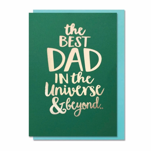 Card FD Bluebell - Best Dad in the Universe DA080