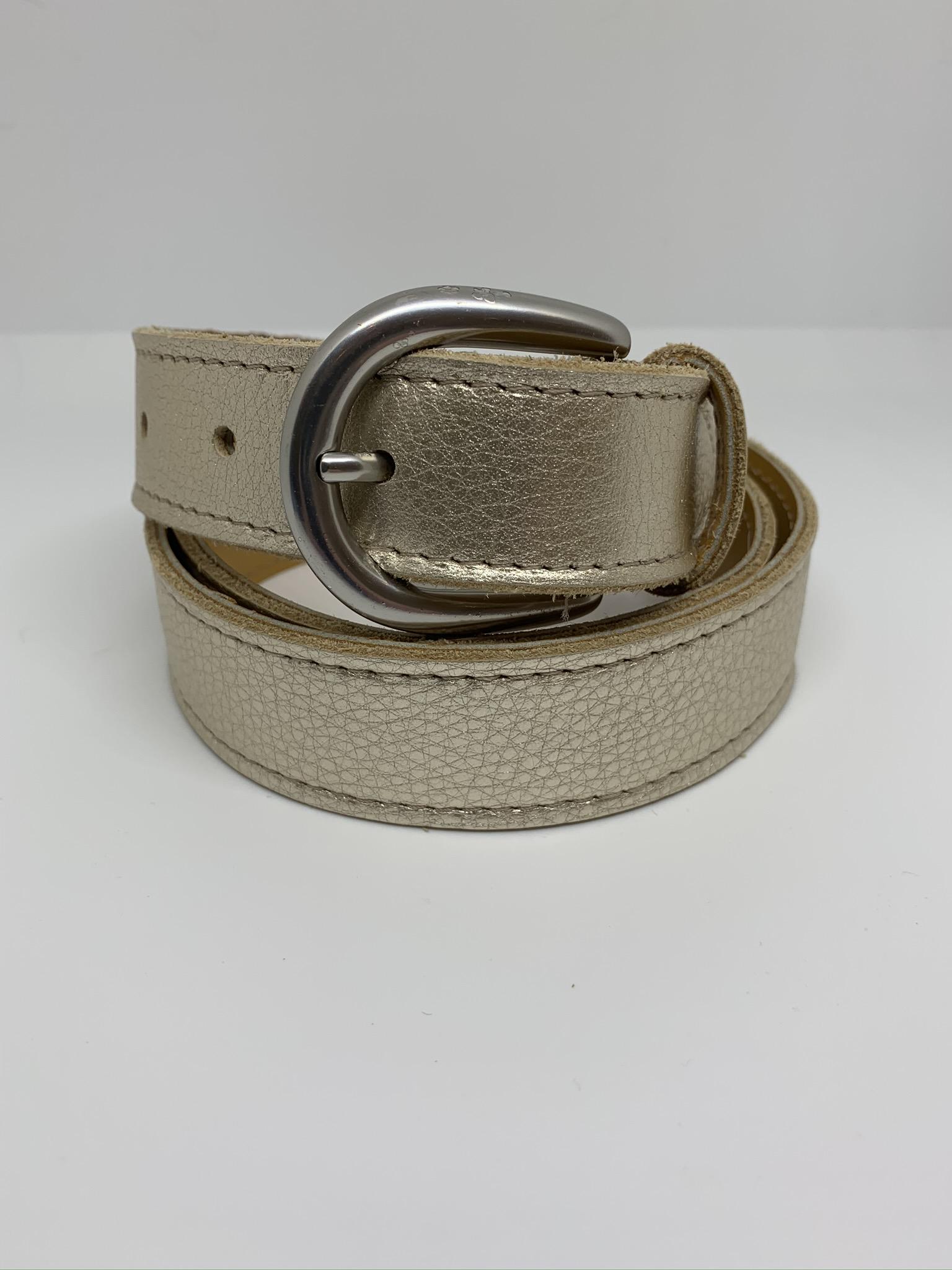 Leather Belt - Metallic (5 colours)