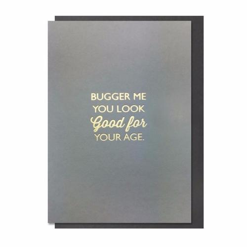 Card Male Bluebell - Bugger Me DA033