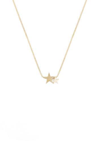 Tutti Necklace Starlight Double Star - Gold