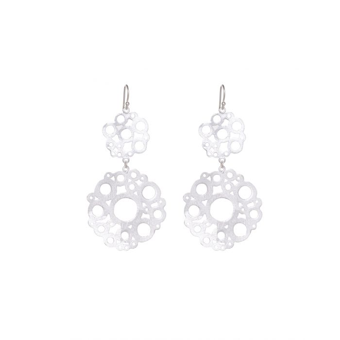 Ashiana earrings - La Conch silver plate 908