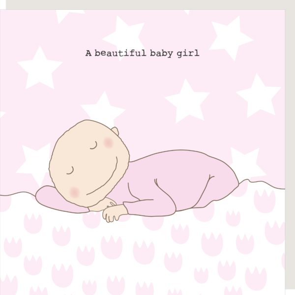 Card Baby Girl Rosie 292