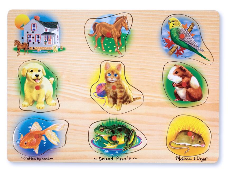 Classic Pets Sound Puzzle